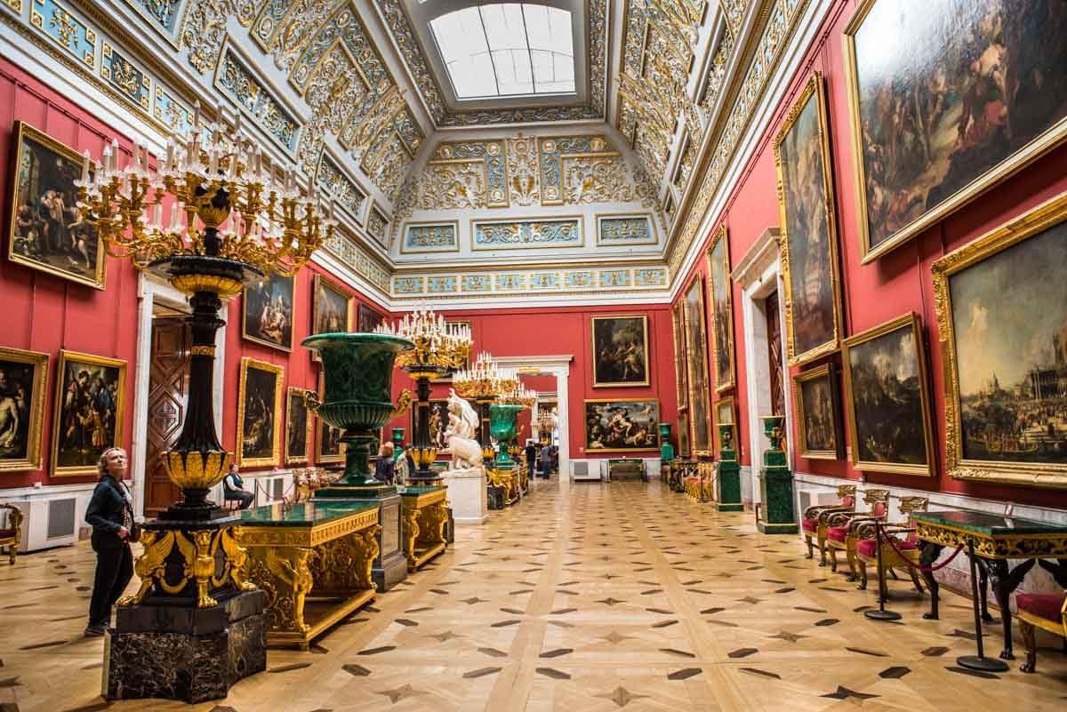 russia st petersburg hermitage museum
