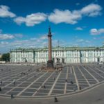 Visiting the City Center of Saint Petersburg, Russia