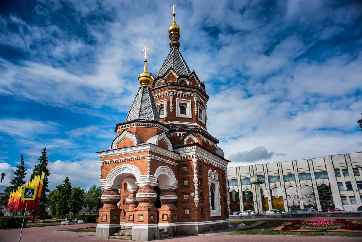 russia yaroslavl alexander nevsky chapel