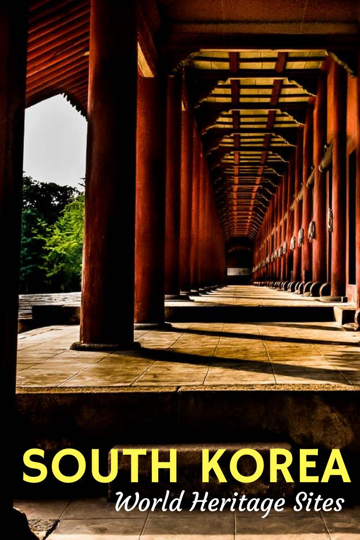 A summary of the UNESCO World Heritage Sites in South Korea, with links to those we've visited. See more here. #South Korea #Korea #TravelPast50 #seniortravel #travelphotography #TBIN #BoomerTravel #TraveltheWorld #historytravel