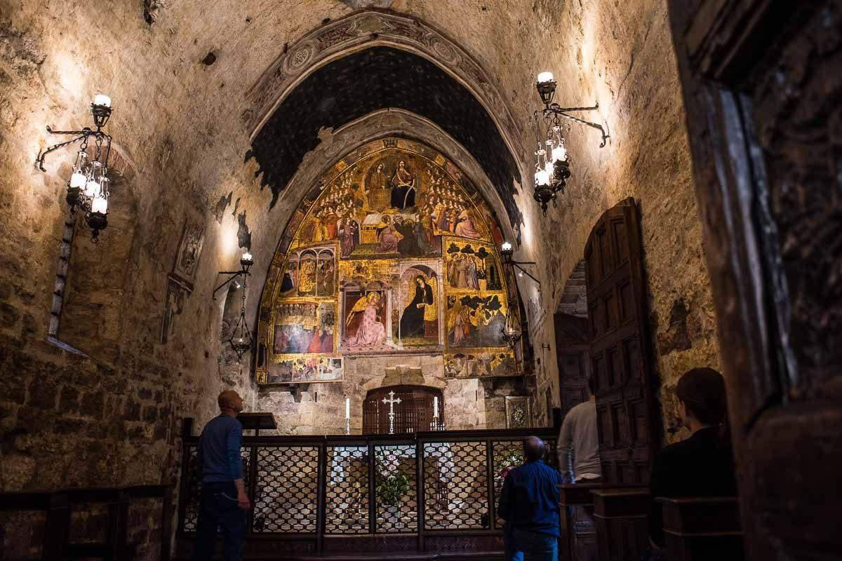 italy Assisi portiuncula interior
