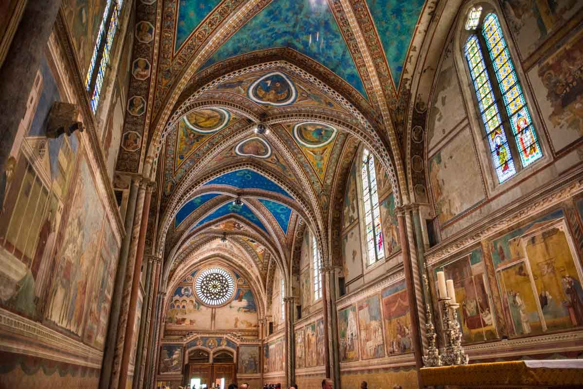italy assisi altar san francesco upper 2