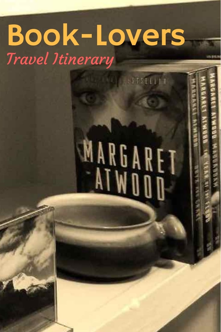 Planning travel itineraries according to your favorite authors, fictional characters and novel places. #TravelPast50 #Arts #Culture #History #Travel
