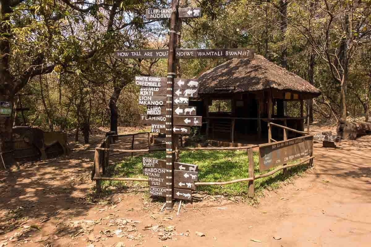 Malawi Lilongwe Wildlife Trust sanctuary 1