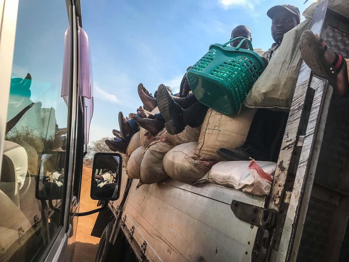 Malawi Vwaza public transport