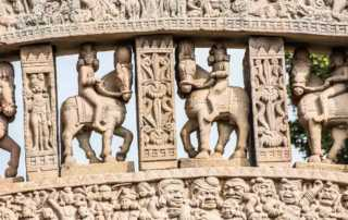 India sanchi arch stupa 1 detail 2