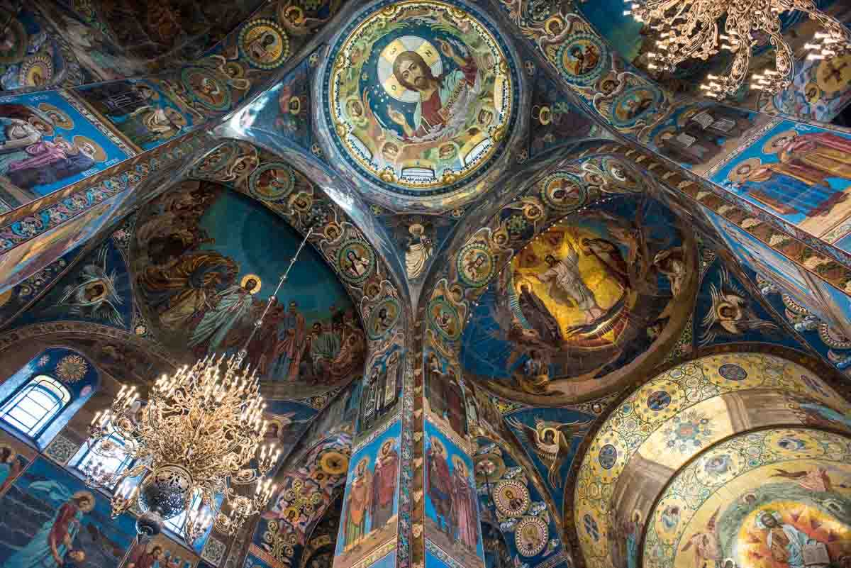 church on spilled blood saint petersburg russia