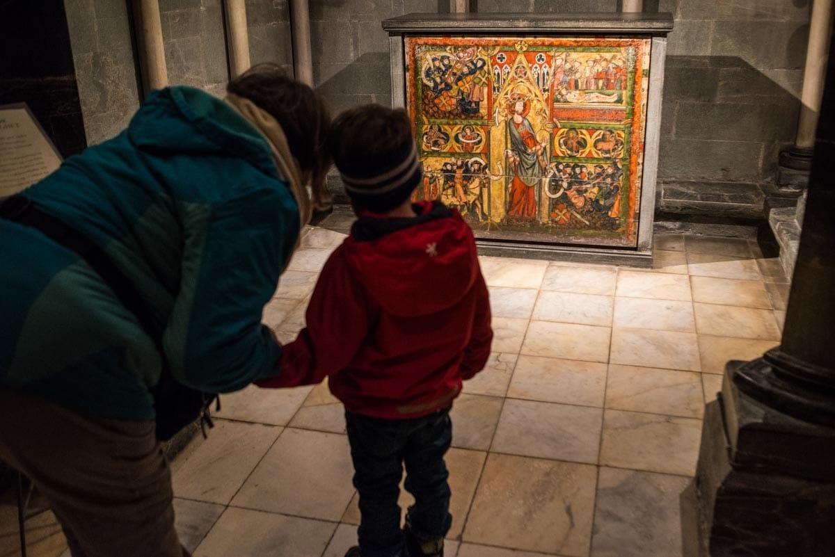 crypt of saint olav trondheim norway
