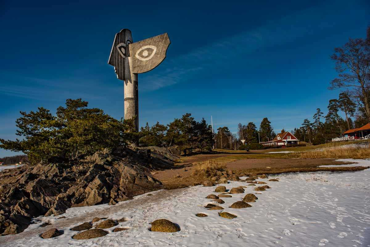 picasso sculpture kristinhamn sweden