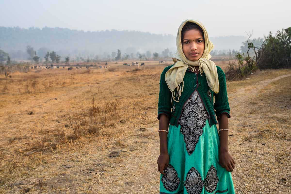 shepherd girl ranchha india