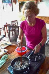 Cooking in HoiAn Vietnam