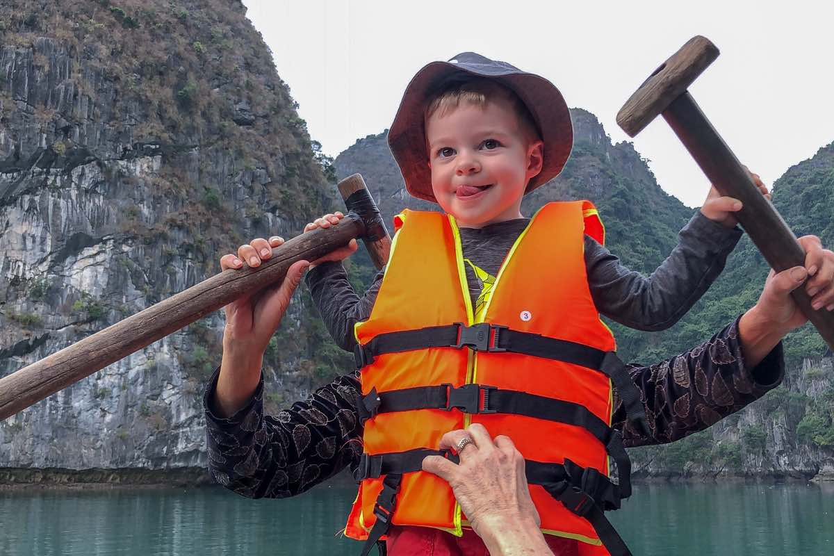 Ha Long Bay Cruise Family Travel Vietnam