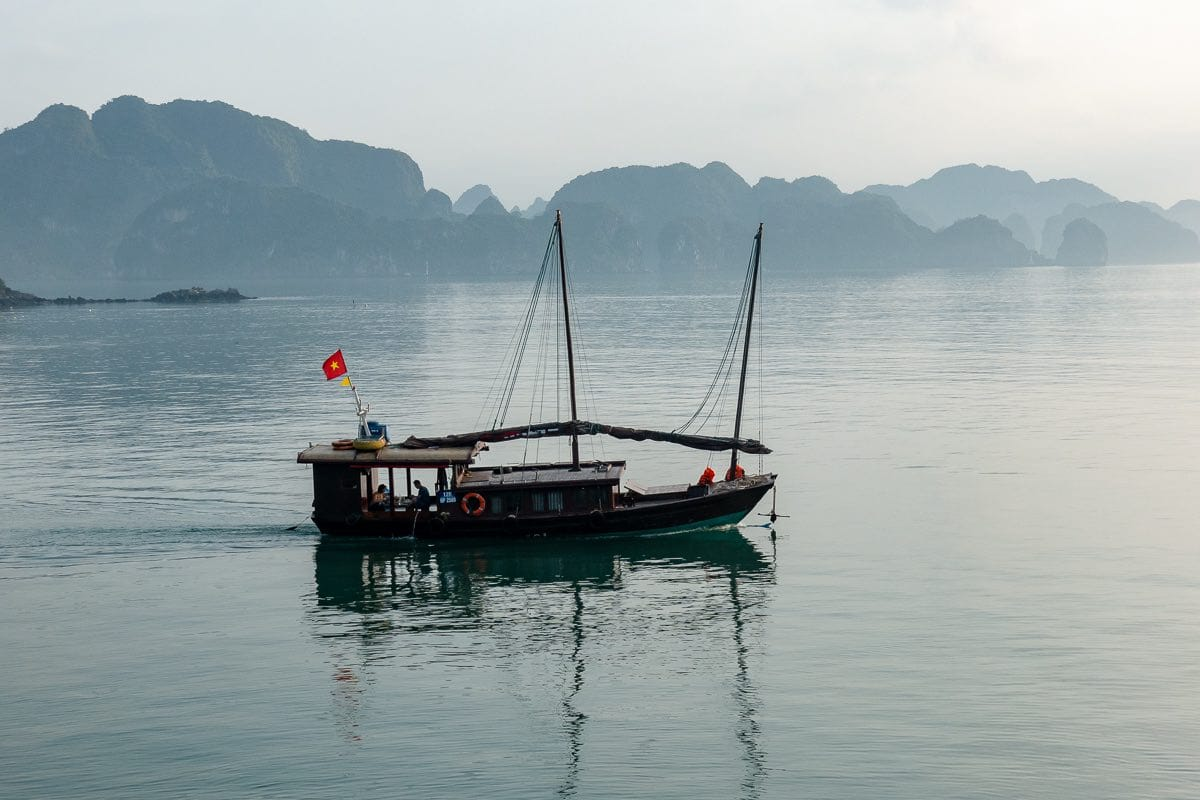 Ha Long Bay Cruise Family Travel Vietnam