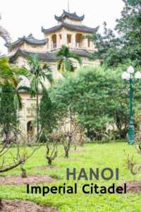 Touring the Thang Long Imperial Citadel in Hanoi, Vietnam