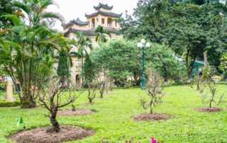 vietnam hanoi imperial citadel princess pagoda