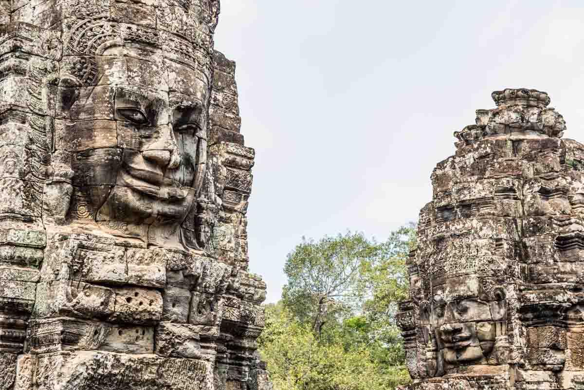 Bayon Temple Angkor Wat Siem Reap Cambodia