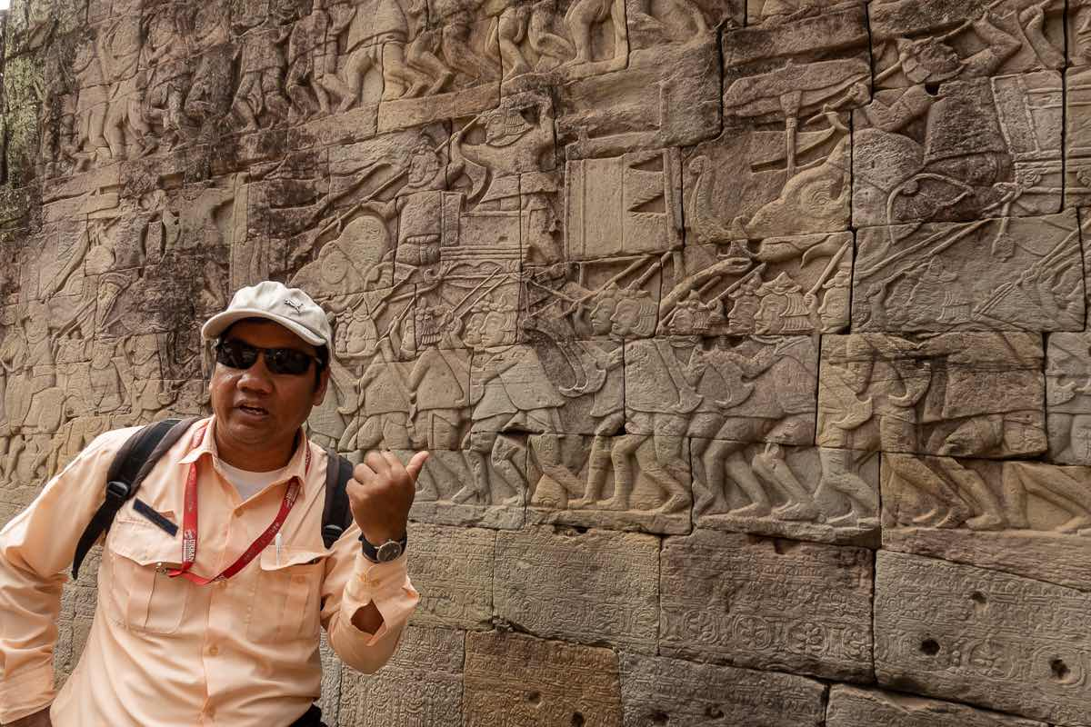 Guided tour with Exodus Travels Angkor Wat Siem Reap Cambodia