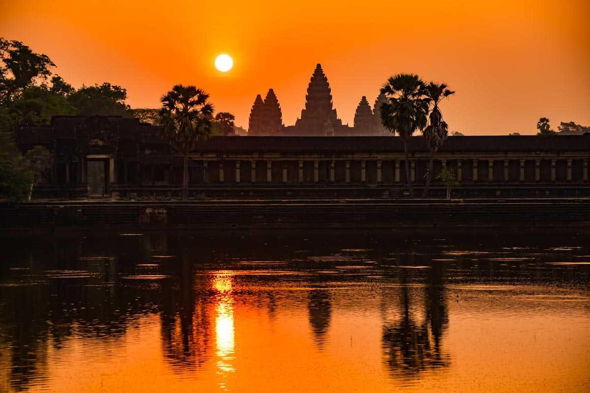 cambodia siem reap angkor wat dawn 2
