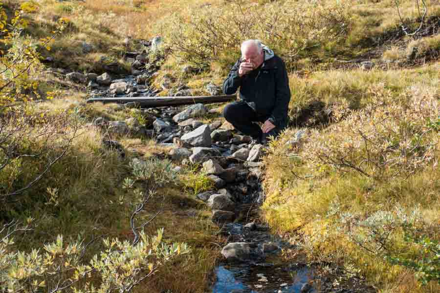 sweden jamtland triangle drinking water