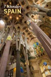 Seven wonders of Spain.