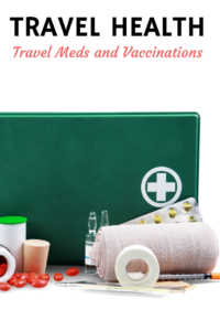 Travel Health Tips: first aid and immunizations