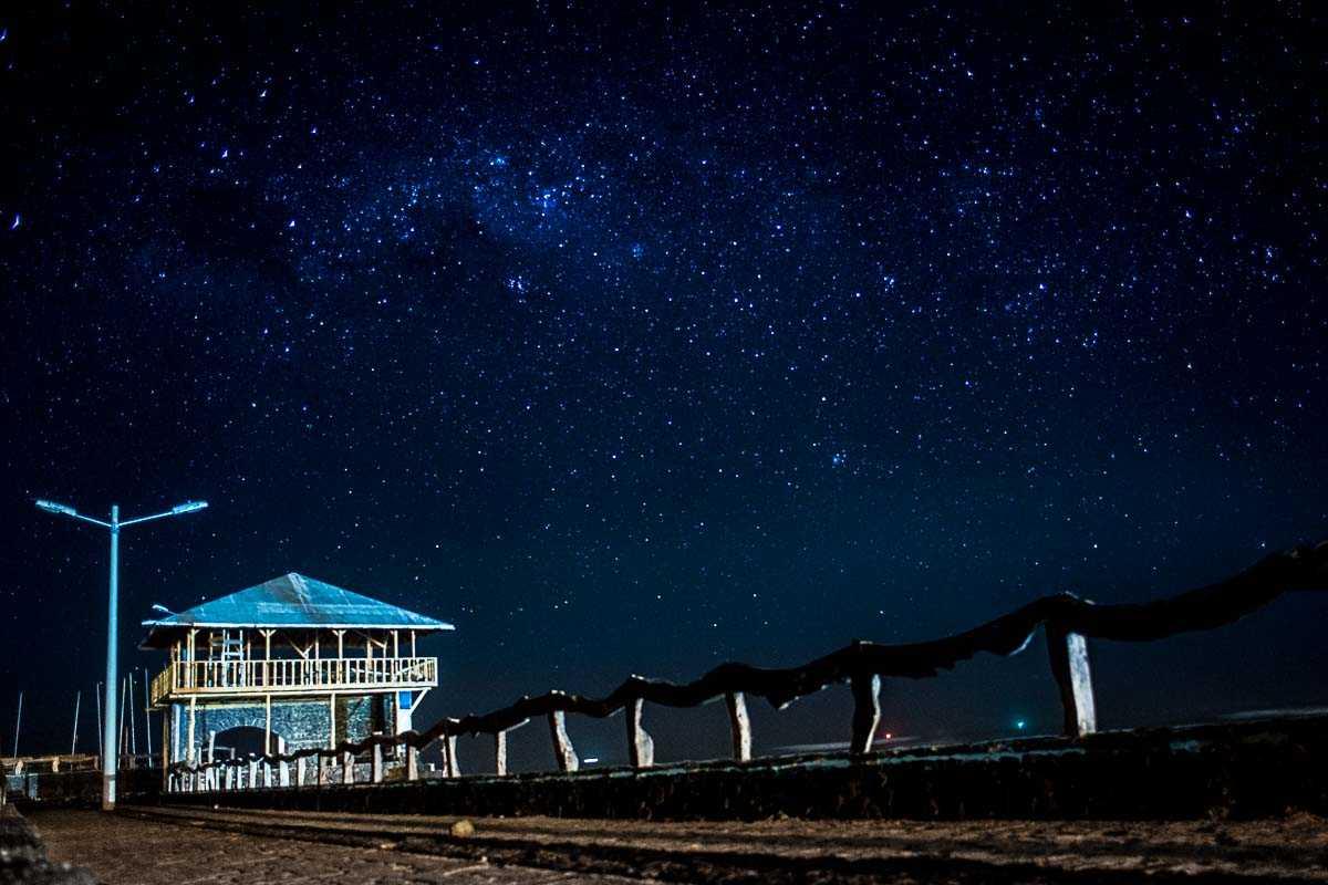 ecuador galapagos isabela stars night