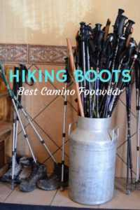 Best hiking shoes and boots for the Camino de Santiago