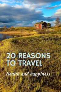 nature and health benefits of travel