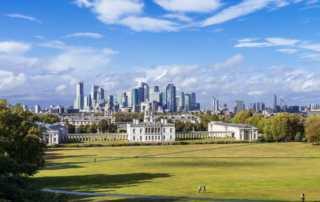 maritime greenwich london skyline