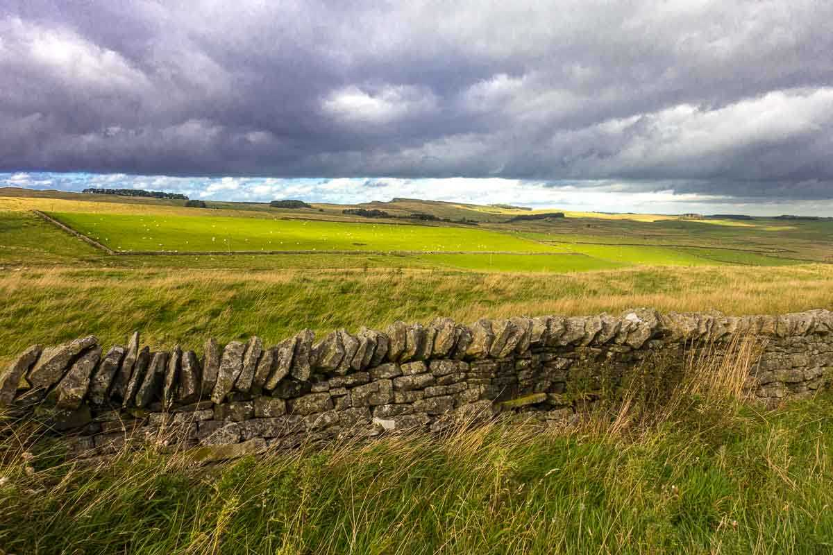 England Hadrians wall high point