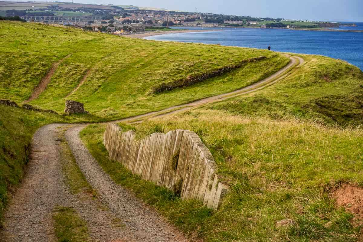 England path along coast to Berwick