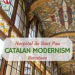 Palau de la musica Catalan Modernism Barcelona