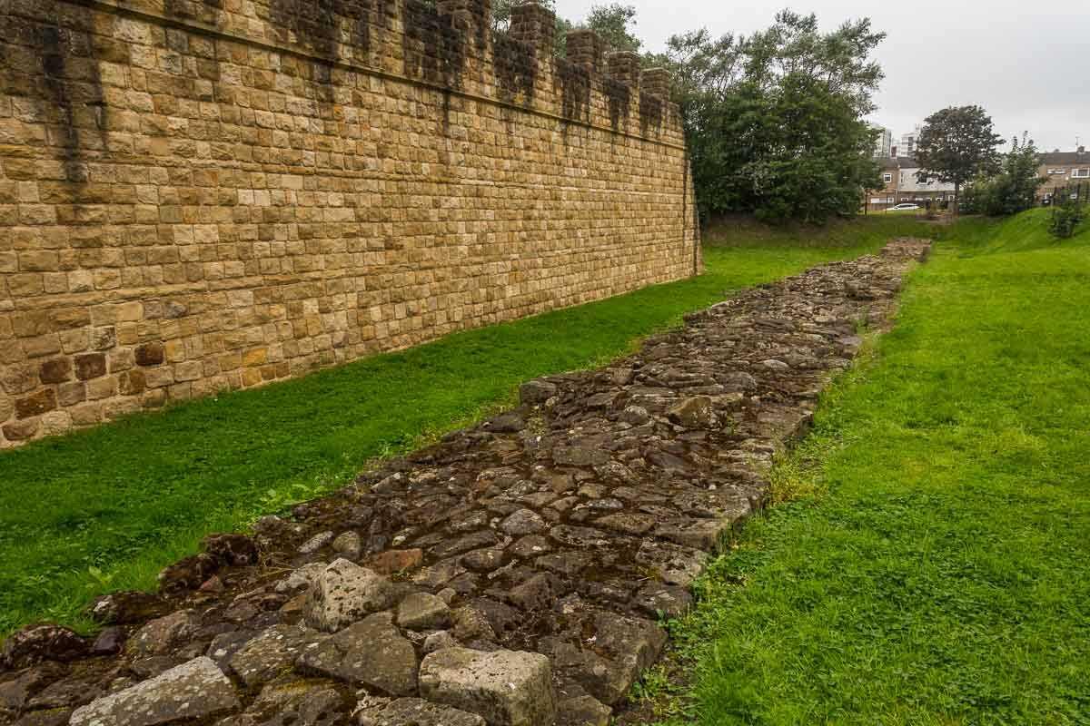 cycling england hadrians walls end