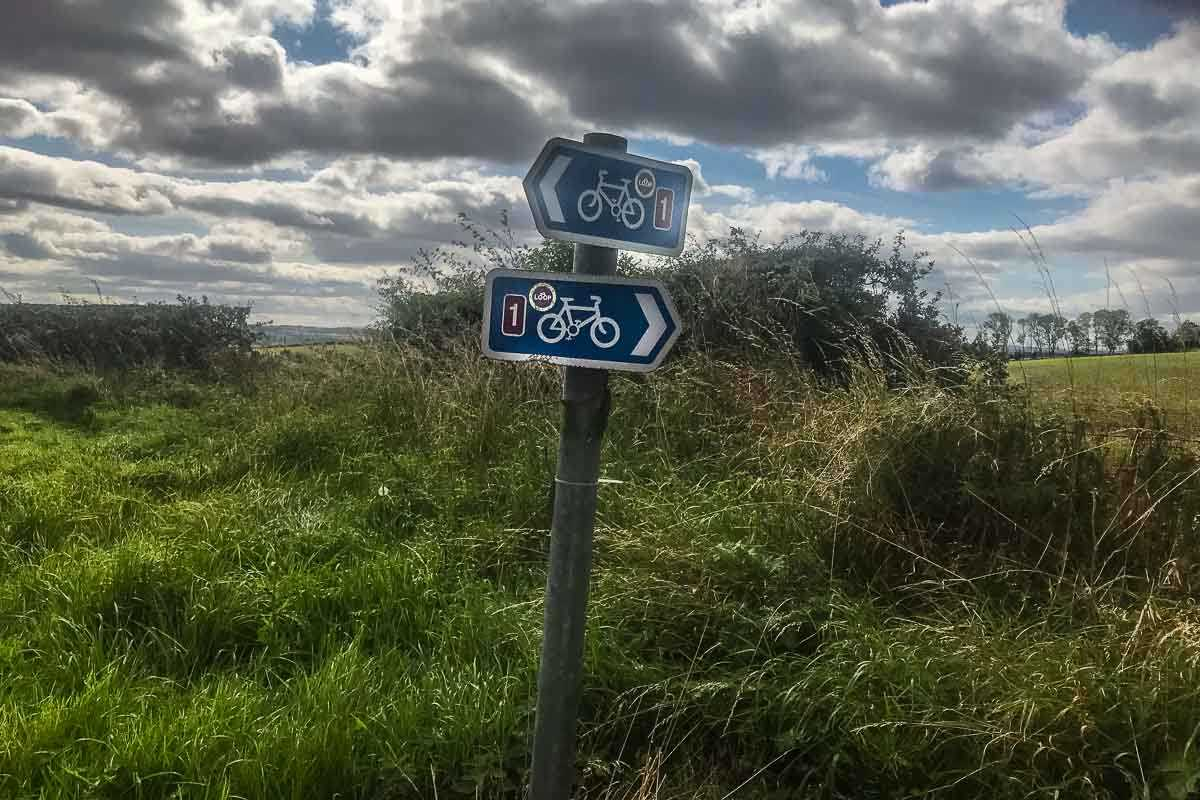 cycling england sustrans signs