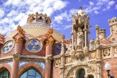 Palau de la Música Catalana and Hospital de Sant Pau, Barcelona