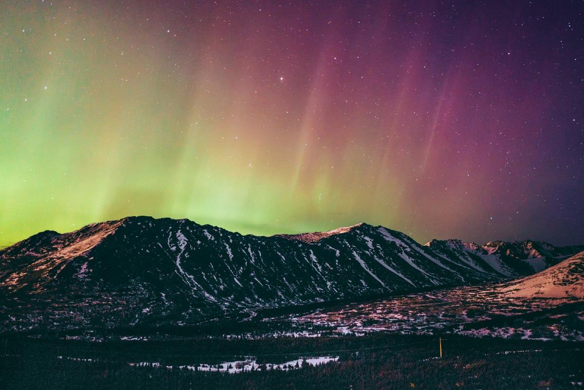 planning travel to Alaska Northern lights