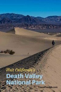 Sand Dunes Death Valley National Park