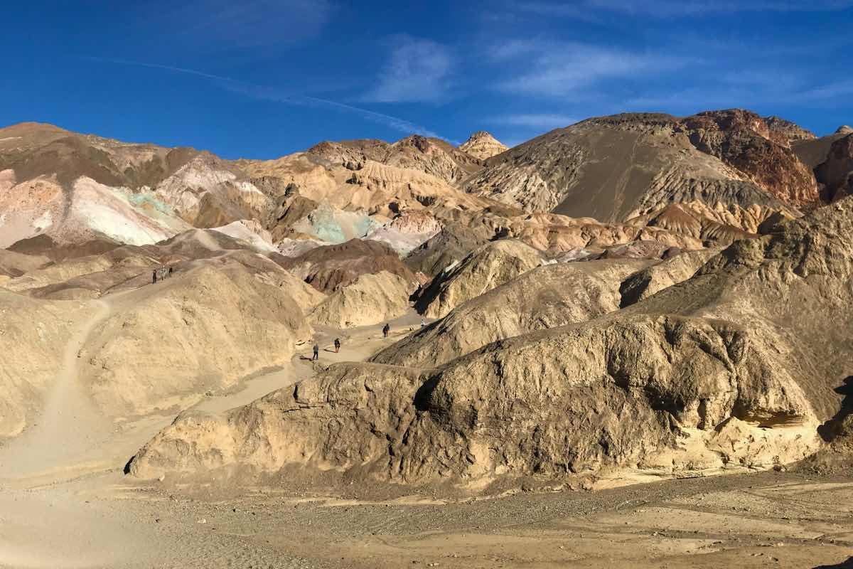 Death Valley National Park artists palette