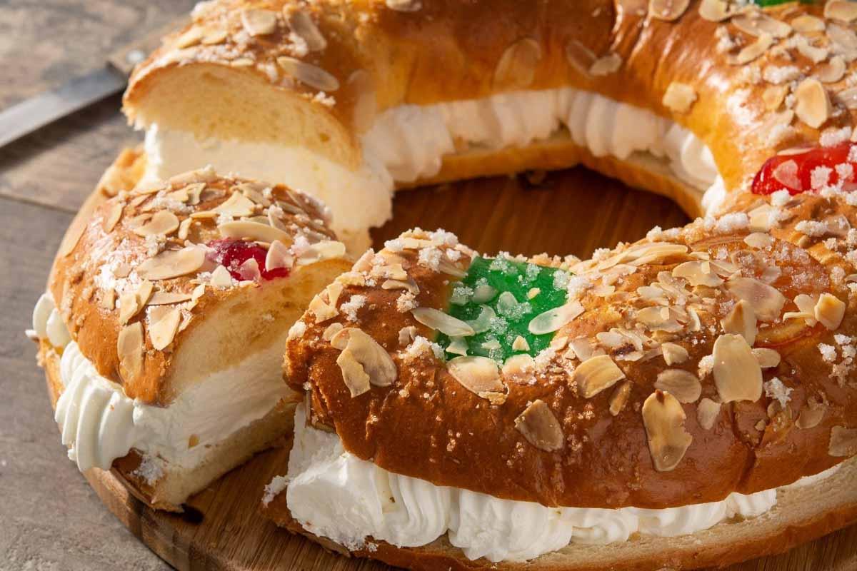 Christmas in Spain Three Kings cake