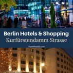 Berlin hotels shopping