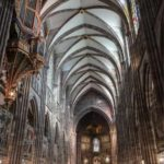 Strasbourg gothic cathedral France