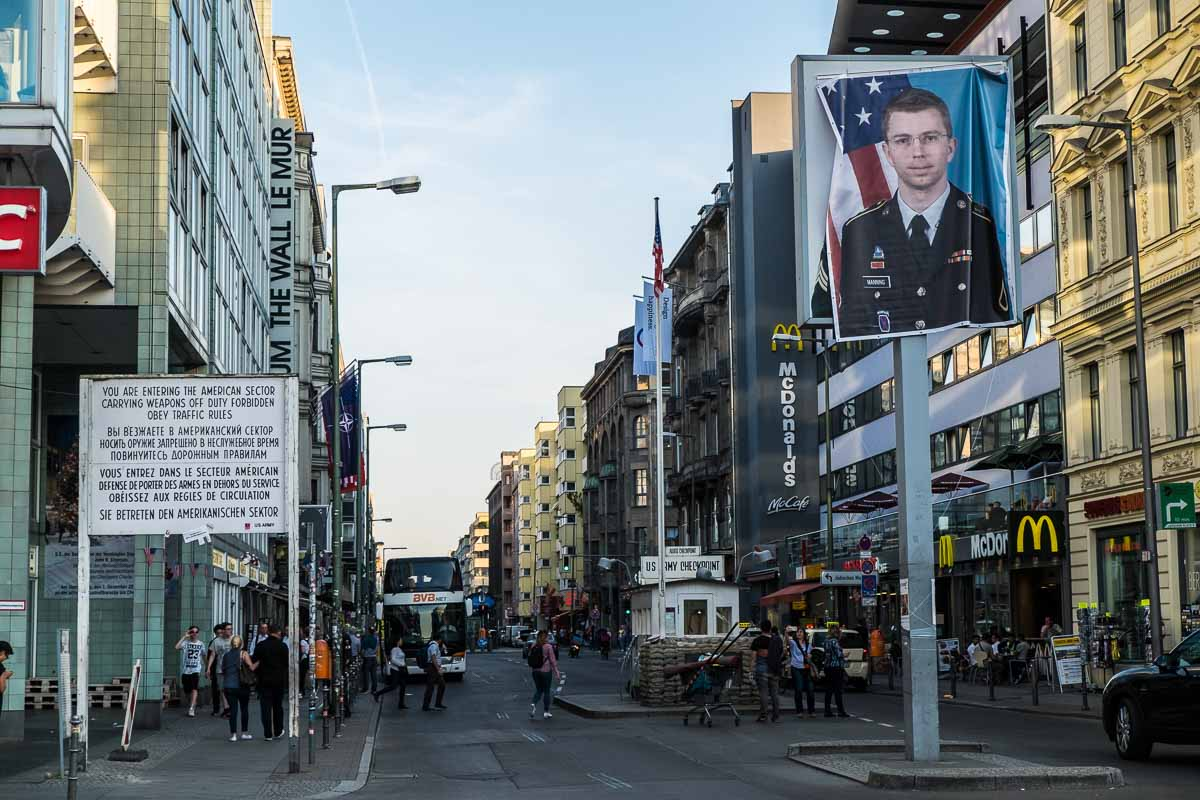 germany berlin checkpoint charlie