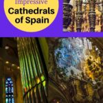 Spain cathedrals Barcelona Toledo