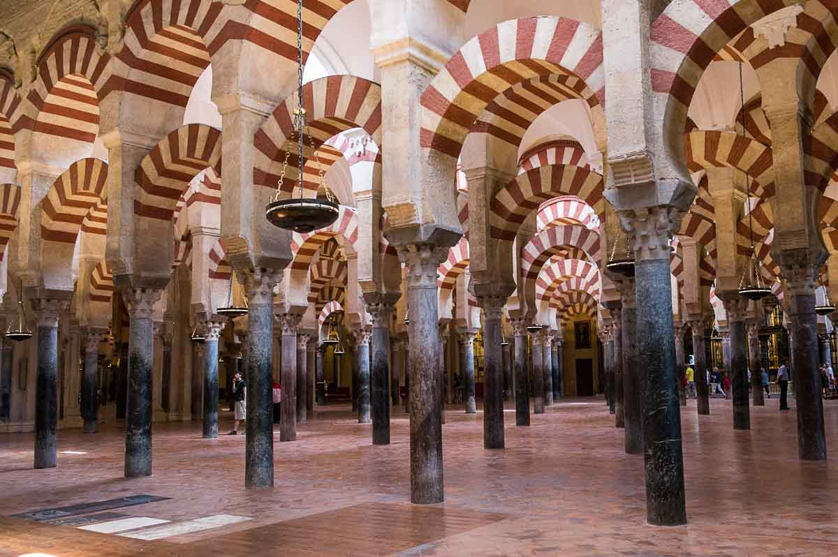 cordoba mesquita arches