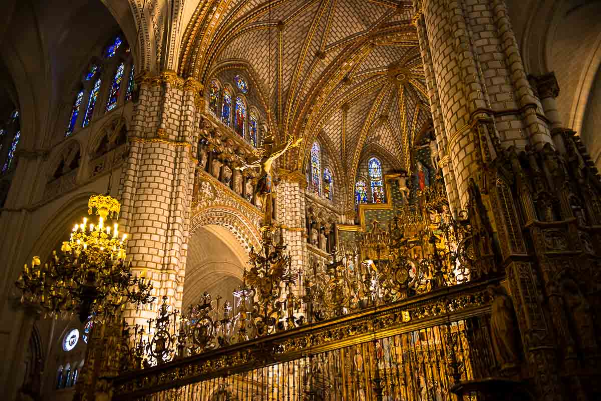 altar toledo cathedral