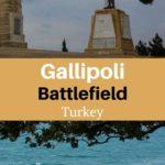 Gallipoli battlefield Turkey