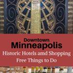 Downtown Minneapolis Hotel Shopping